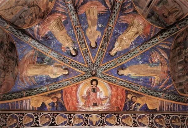 GOZZOLI Benozzo St Francis in Glory and Saints
